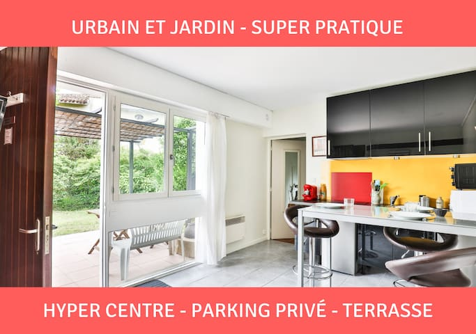 La PresqueBasque : terrasse★parking★hypercentre