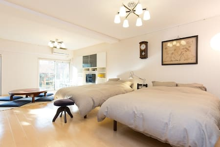 Spacious Apt with Broadband, just 3min>IchigayaSTA - Shinjuku-ku