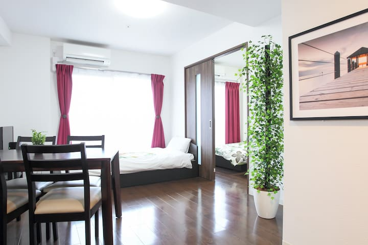 New❤ 15min from Namba/Dotonbori! LF-201 - 大阪市 - Apartment