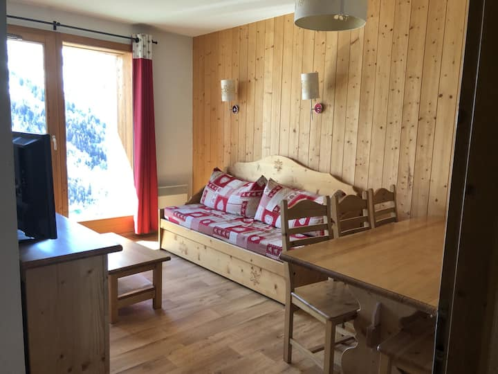 Appartement 6 couchages - skis aux pieds