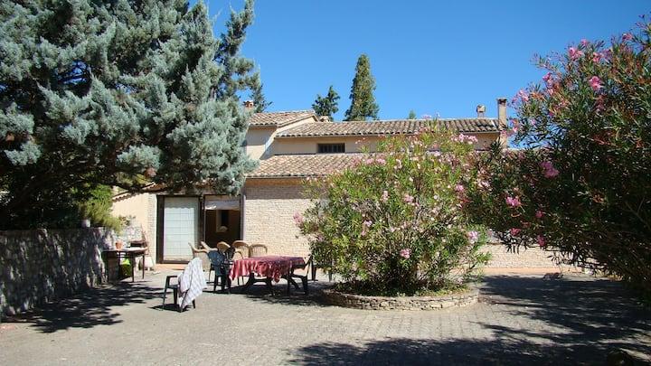 Maison de vacances en Drôme Provençale