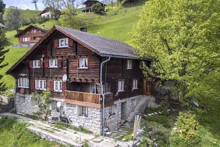 Cosy Flat in a carfree resort village - Glarus Süd