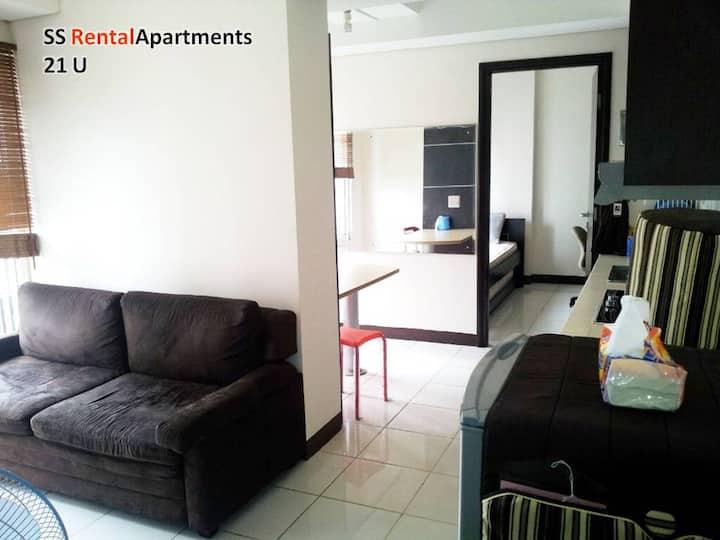 Central Jakarta 2 bedrooms Apt easy access #21U