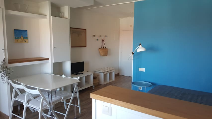Apartamento playa Pals c/piscina comunitaria 6A