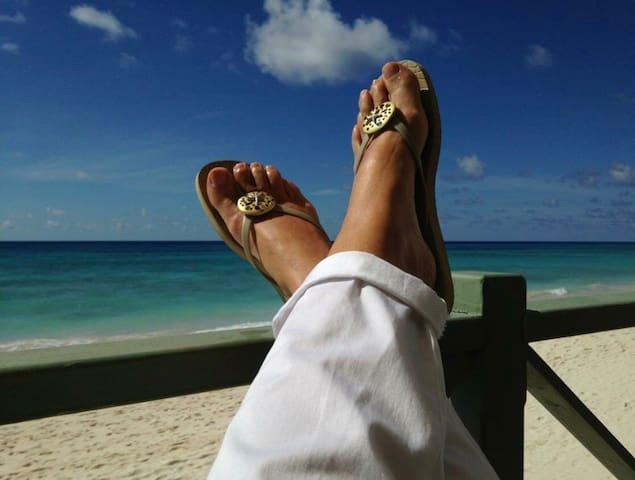 Life really is better in flip flops
