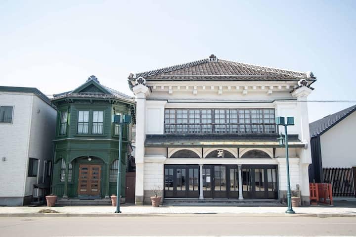 国の重要文化財 太刀川家(ゲストハウス)に宿泊する