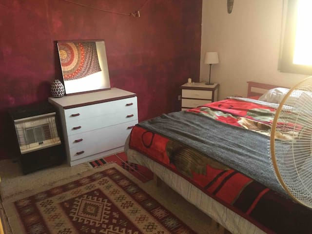 Room in Artsy Jabal Amman Rooftop Apartment