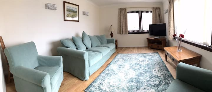 Perfectly situated G/F flat, Western Isles Mallaig