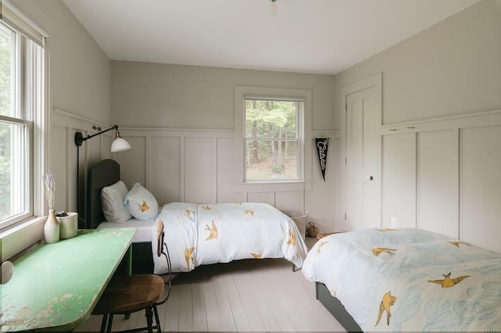 Third bedroom has two twin beds and a pull out trundle bed.