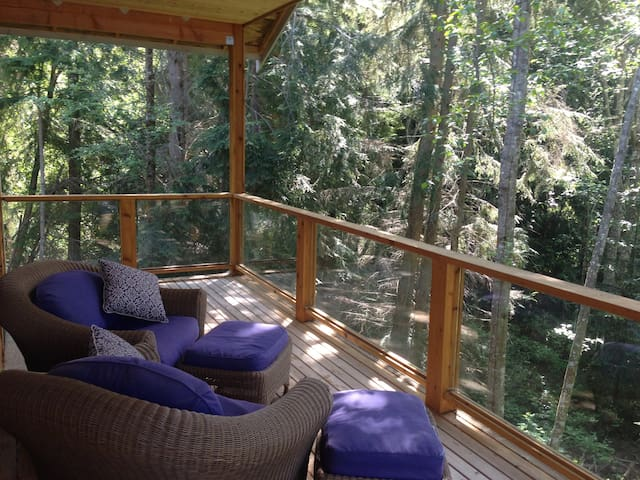 Loft in the woods - Anacortes