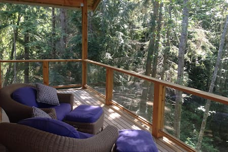 Loft in the woods - Anacortes - Loft