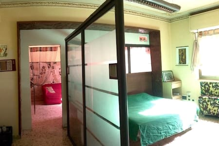 Big room in a foreign students flat - Catania - Wohnung