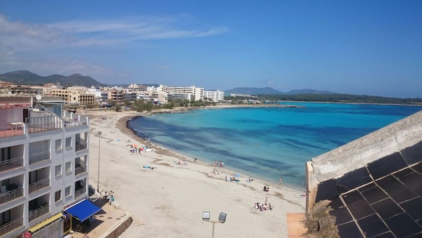 Beachfront 1 Bedroom Apartment - S'Illot-Cala Morlanda - Apartment