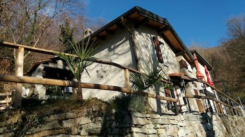 kleines 2 Zimmer Ferienhaus /Rustico