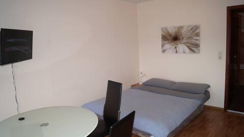 Apartment am Radweg mit Infrarotkabine