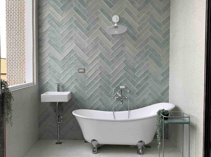 民宿莉莉的家 雅典浴缸白色雙人房 32m2