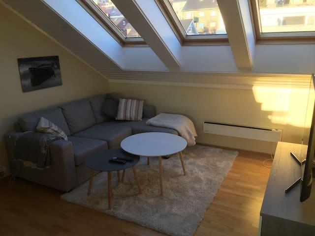 Koselig loftsleilighet i sentrum - Narvik - Apartmen