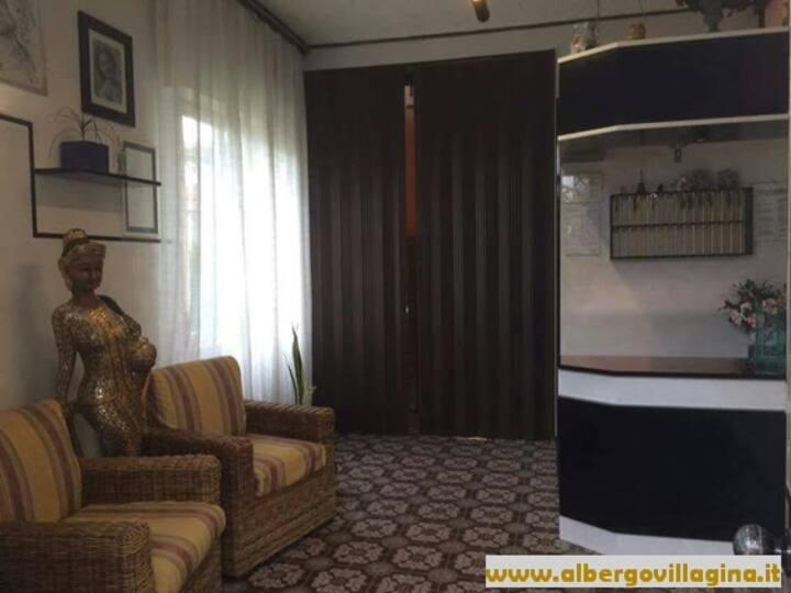 Villa Gina Bed & Breakfast camera quadrupla