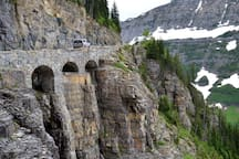 Going to the Sun road is the Sistine Chapel of civil engineering.