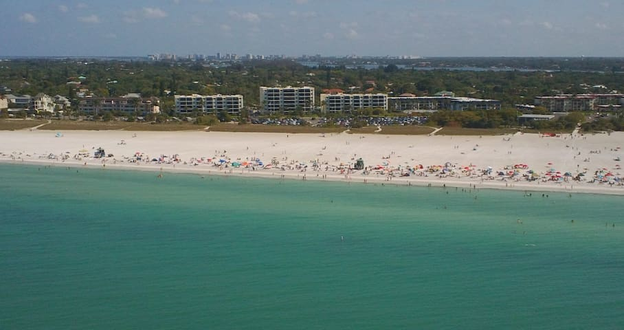 Beachfront Siesta Key condo