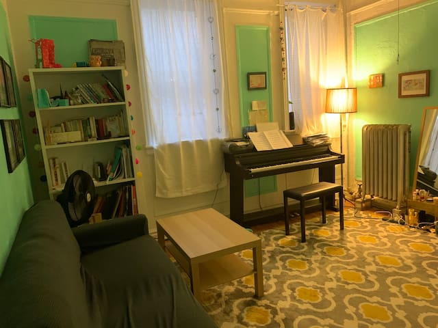 Cozy private room in Hamilton Heights in Manhattan
