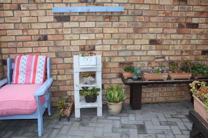 Private Outdoor Area with Braai & Seperate Washline Area