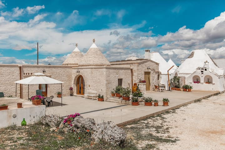 Trulli in Farm Masseria full option