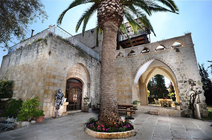 A historic castle by the beach!- Suite - Kerem Maharal - Kastil