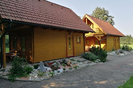 Wooden Holiday House JAS-MAR in nature