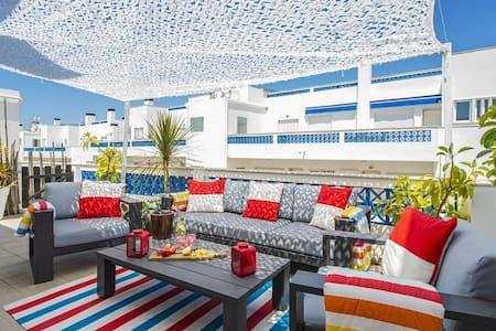 Santa-Luzia paradise/2 bedrooms apt & terrasses