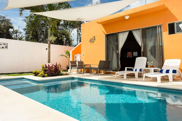 Relax Flat at Cacao Complex- Sun Garden and Pool
