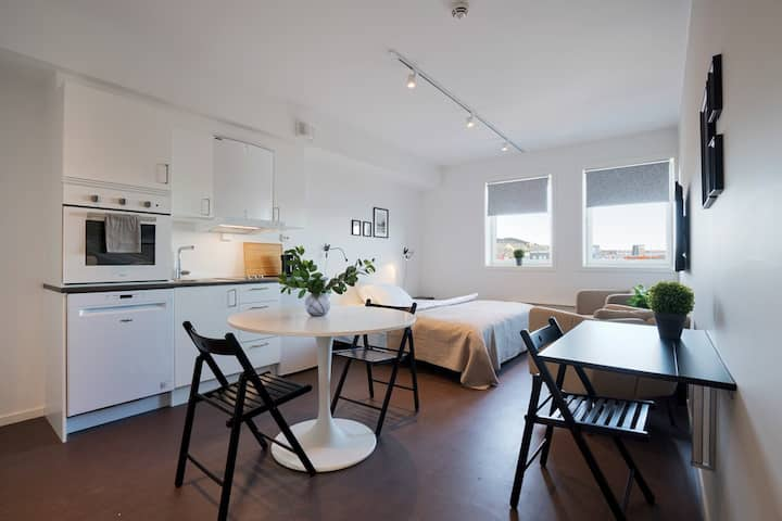 Brand new studio apartments in Tromsø centre! Ap 3
