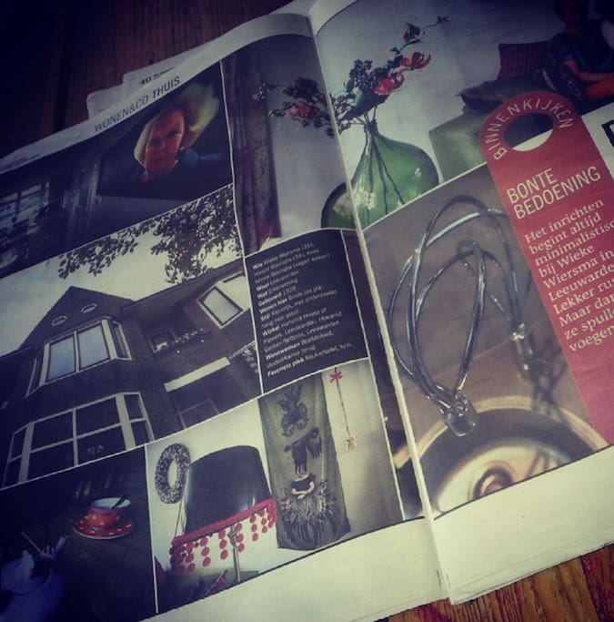 Our house in the stylesection of a newspaper.