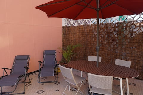 Private Terrace with Sun at 15 min from Lisbon