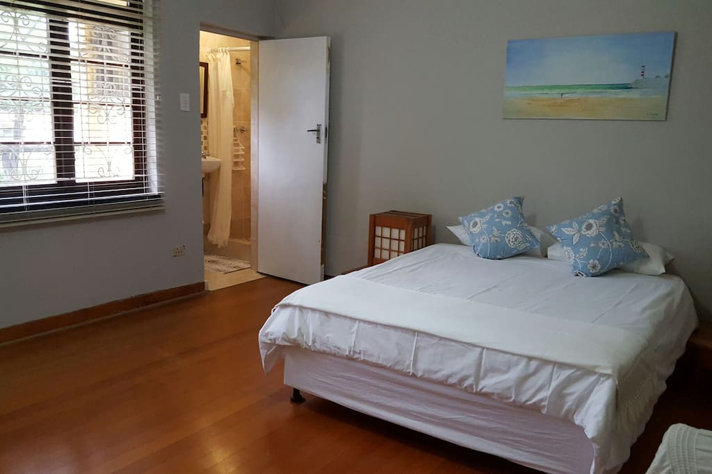 The main bedroom is huge. with its own en suite shower,  you'll see why this is a home near the ocean