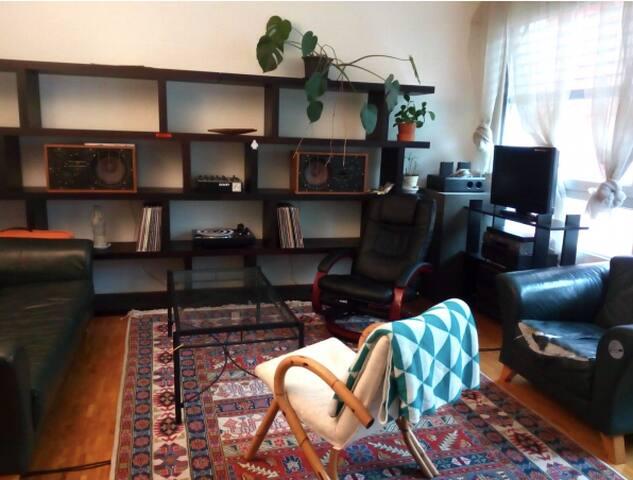 Appartement spacieux en plein centre de Genève