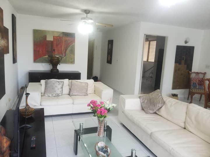 Apartamento amplio, central y confortable 140mts.