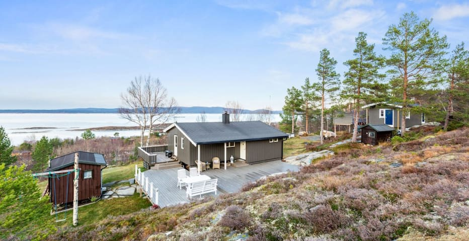 Cabin by the sea with a spectacular view - Hemne - Chatka