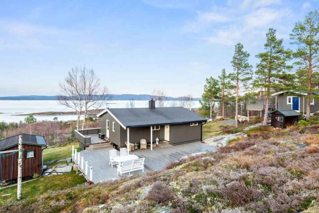 Cabin by the sea with a spectacular view cabins for rent for Cabin by the sea