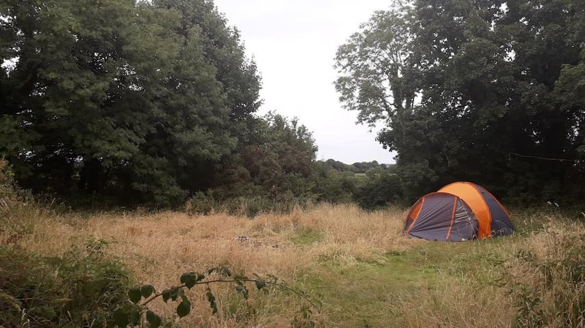 Tent at the Fort - Nearly Wild Camping