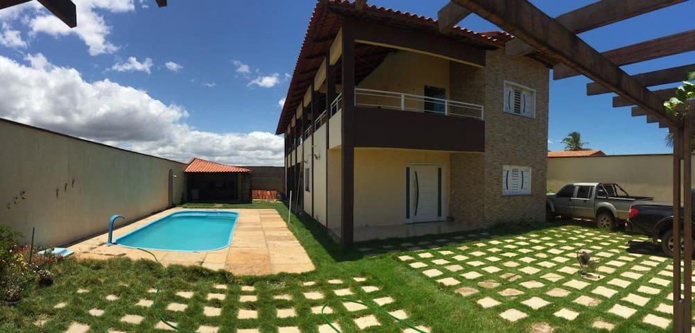 Casa de praia Aracari/Canoa Quebrada 6 min . WI-FI