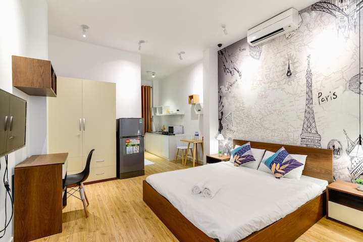 BenThanh Market 2min walk ⭐ Fully equipped Studio2