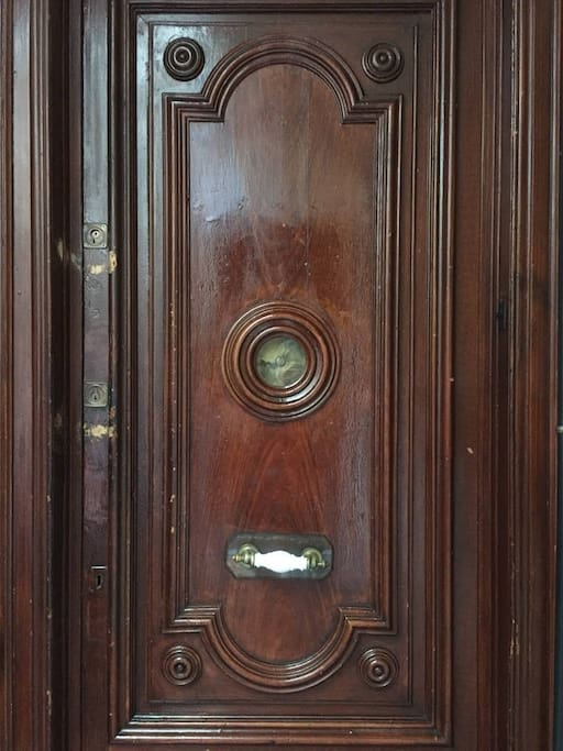 Apartment Door Outside