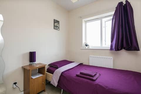 Single private room near Manchester city centre