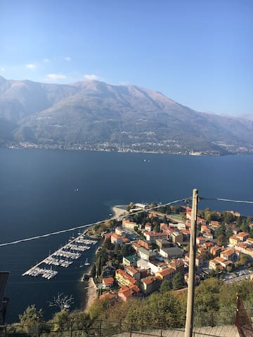 Beautiful lake Como view