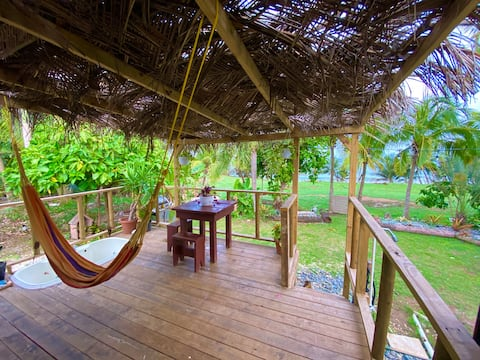 Casa Papaya beach-front RV at private farm