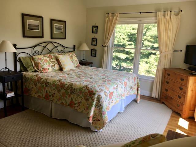 Master bedroom, tons of sunlight!
