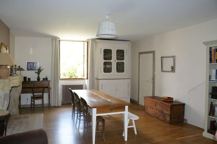 Maison  dans un village du Revermont
