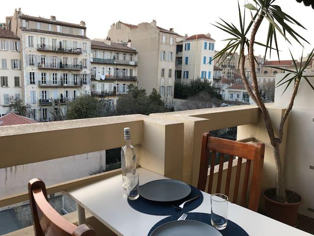 NOUVEAU studio calme tout équipé + draps - Marsella - Apartamento