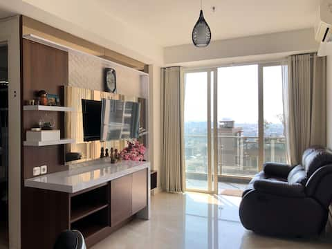 Private Full 2 BDR Apartment @the heart of Bandung
